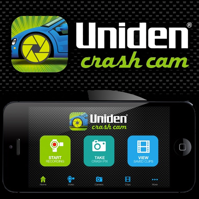 Uniden Crash Cam App